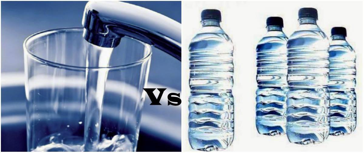 φίλτρα νερού vs εμφιαλωμένα