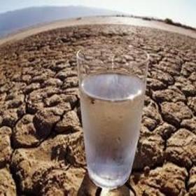 ποτήρι νερό ξηρασία