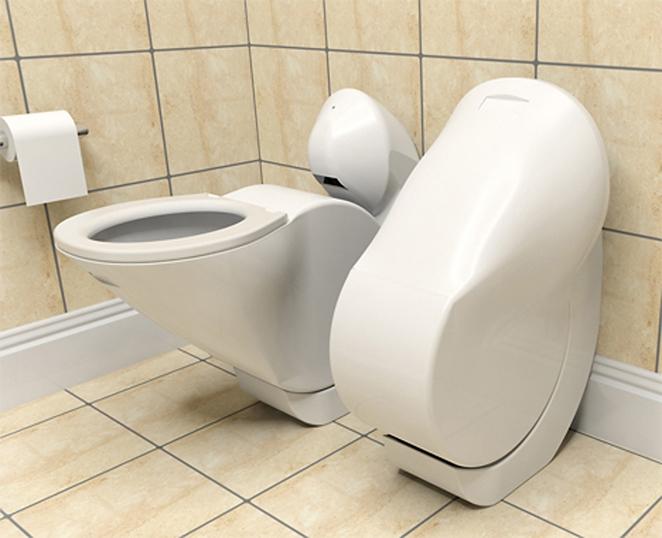 Αναδιπλούμενη τουαλέτα