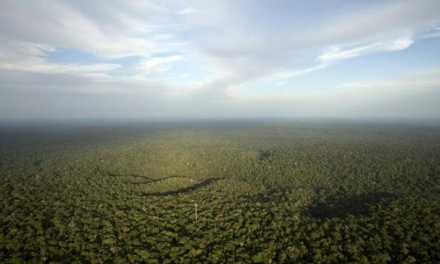 έλλειψη βροχών στον Αμαζόνιο