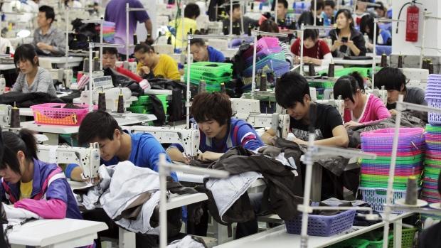 εργοστάσια ρούχων στην Κίνα