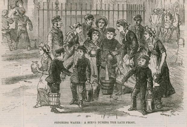 νερό από δημόσιες αντλίες στο Λονδίνο