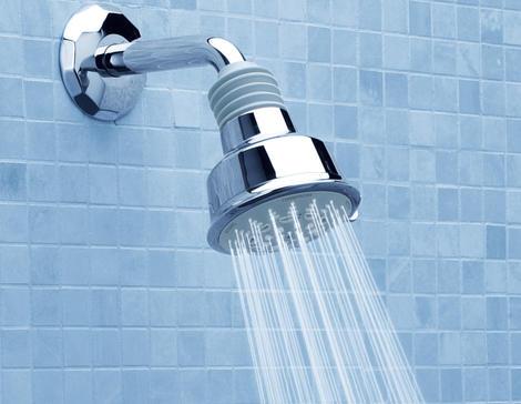 μείωση νερού στο ντους