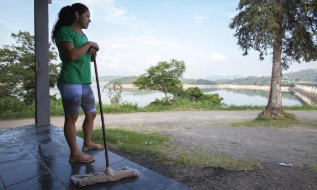 χαμηλά επίπεδα νερού στη Βραζιλία