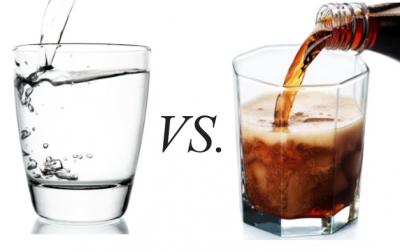 Νερό εναντίον αναψυκτικών