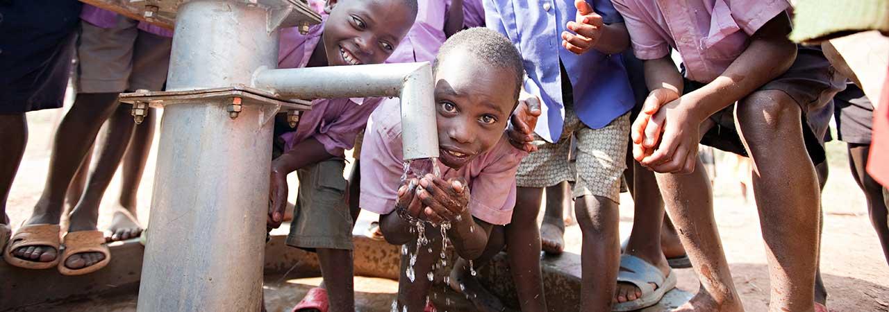 Φίλτρο νερού στην Αφρική