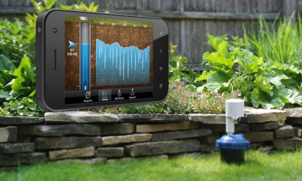 εφαρμογή για κινητά, καλλιέργειες με λιγότερο νερό