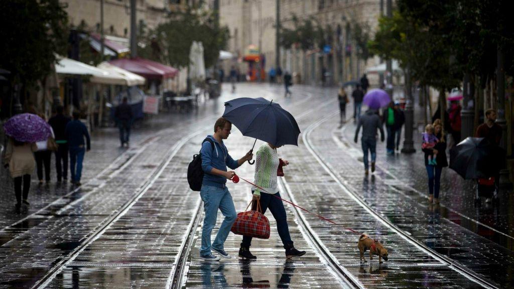 Έντονες βροχοπτώσεις στο Ισραήλ