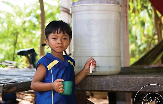 Φίλτρο νερού στην Καμπότζη