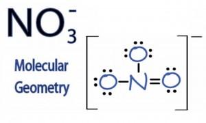 χημικός τύπος νιτρικών