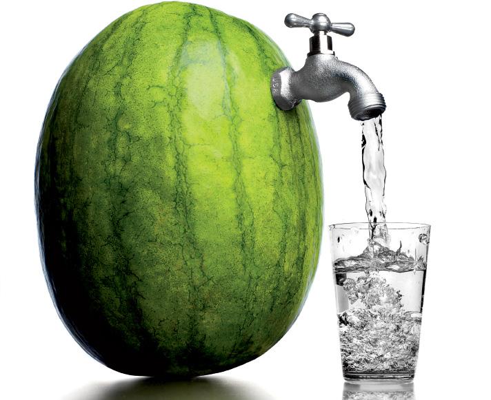 Νερό, το τρώμε δεν το πίνουμε