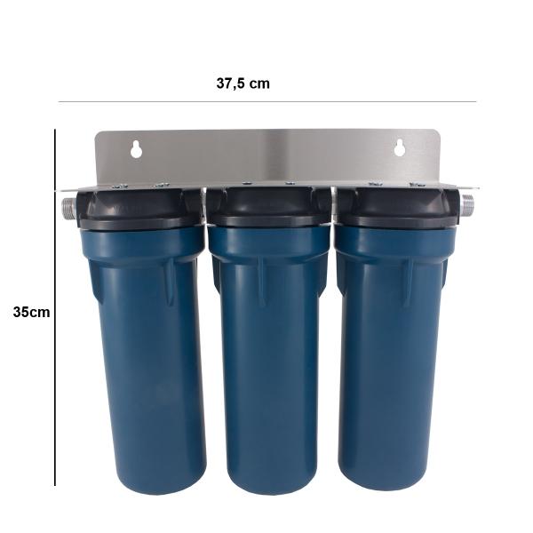 GRSKGUC3GB12 Φίλτρο νερού κάτω πάγκου