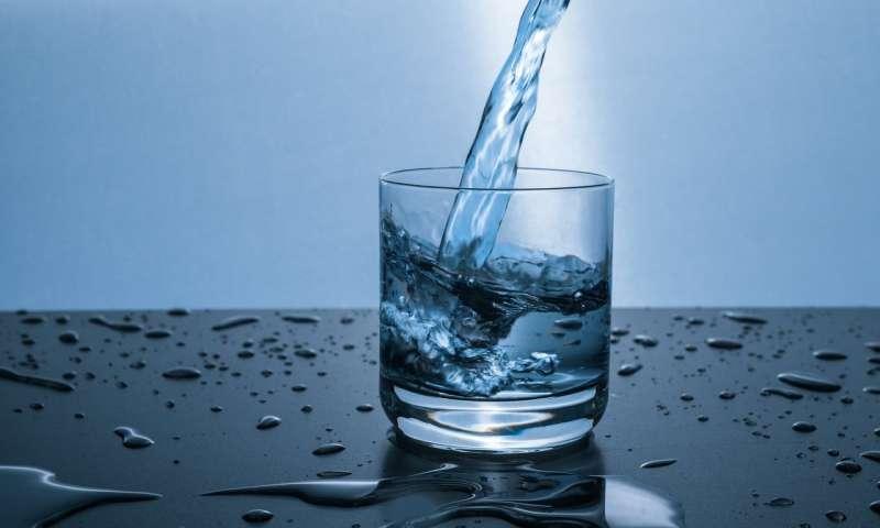 καθαρό νερό με φίλτρα νερού