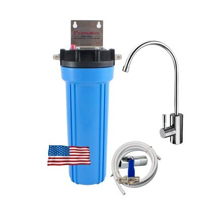Αμερικάνικο Φίλτρο Νερού κάτω πάγκου με ενεργό άνθρακα made in USA και βρύση DELUXE Primato USA1GB14