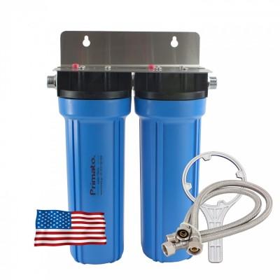 Φίλτρο διπλό κάτω πάγκου με 2 ενεργούς άνθρακες made in USA - Primato USA2GB12