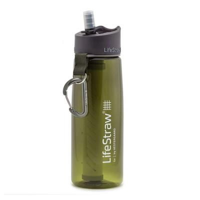 LifeStraw® GO GREEN παγούρι επιβίωσης με φίλτρο νερού 2 σταδίων LS11105