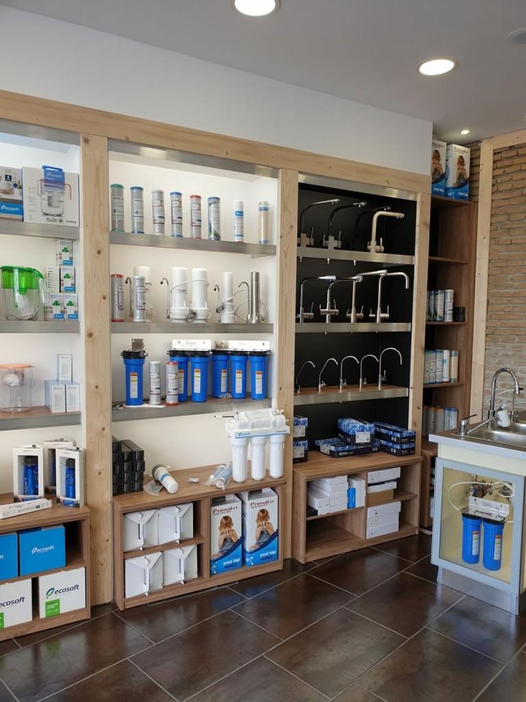 Το κατάστημα μας με φίλτρα νερού στην Νεα Ιωνια (Αθήνα) - Primato Hellas