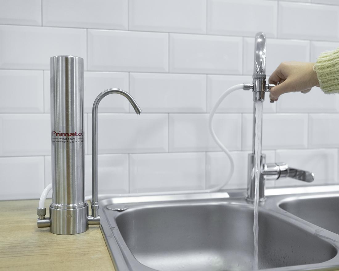 Φιλτρα νερού άνω πάγκου HCS 102